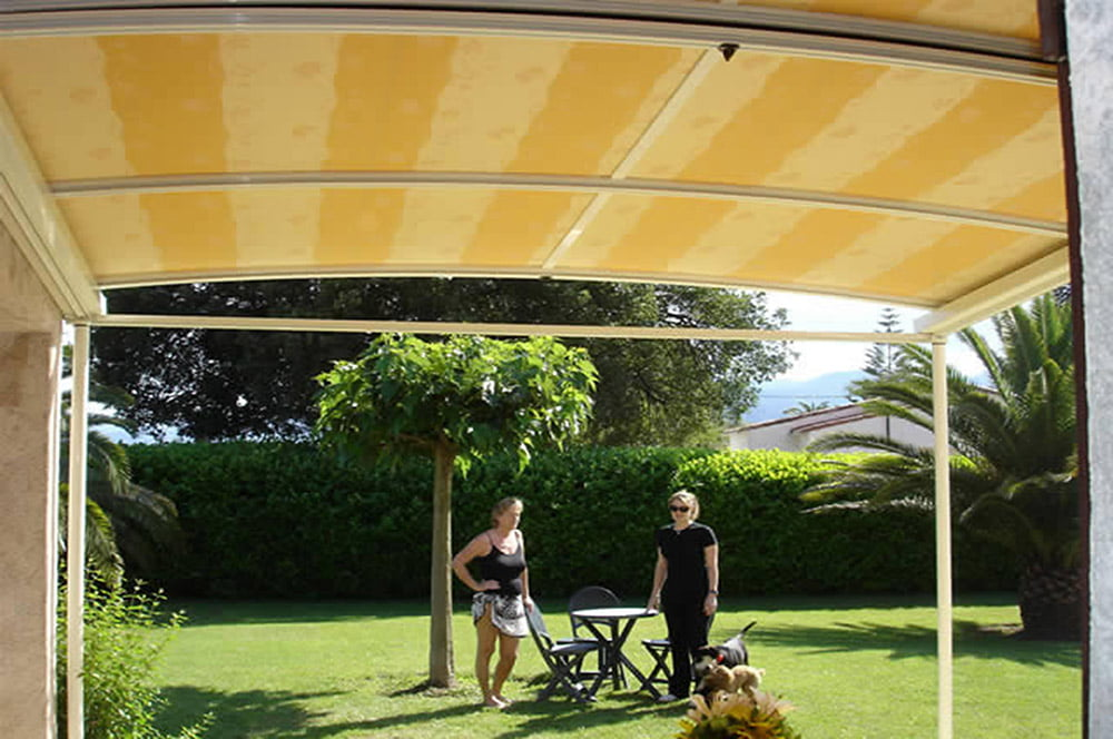 Connecticut Retractable Patio Covers