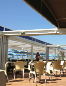 beach retractable roofs