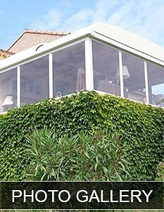 Residential Retractable Patio Cover Gallery