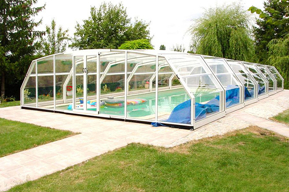 South Dakota Pool Enclosure