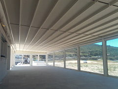 Pergola Covers closed