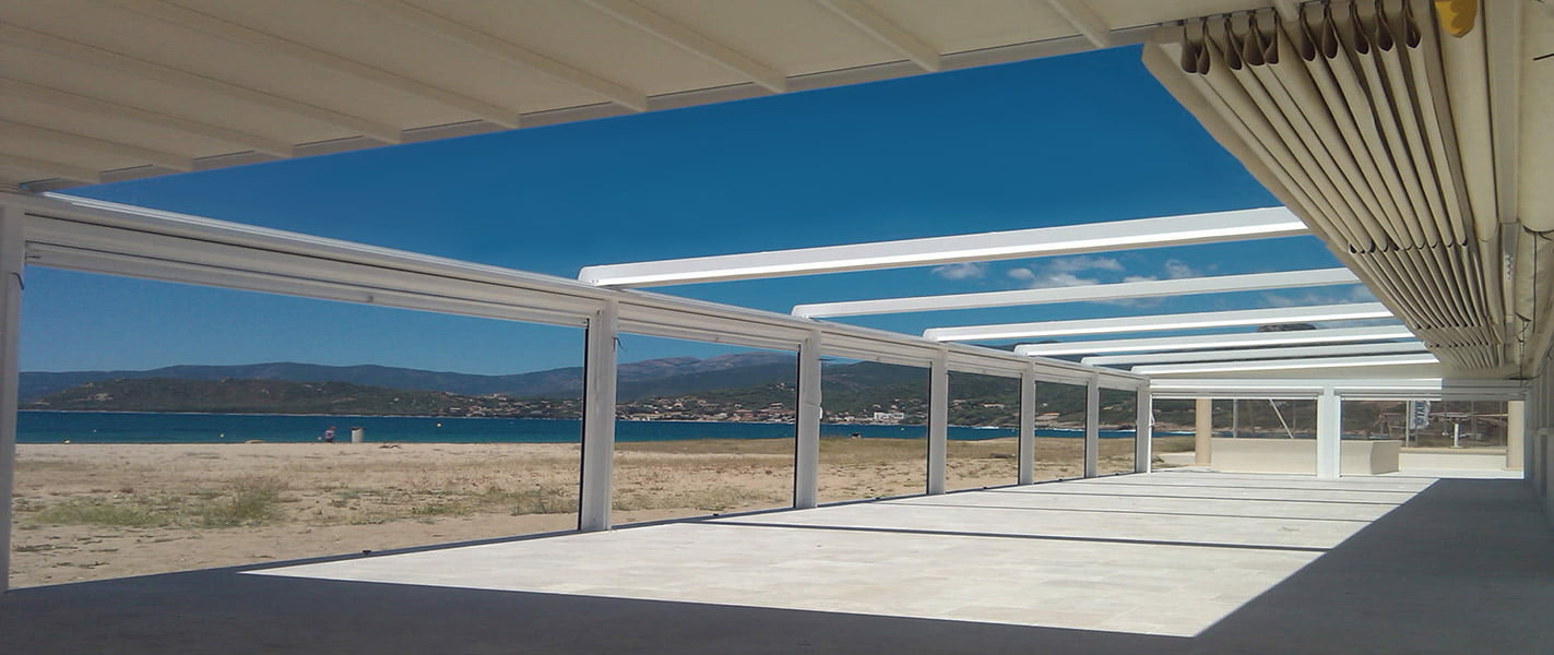 Restaurant Pergola Covers