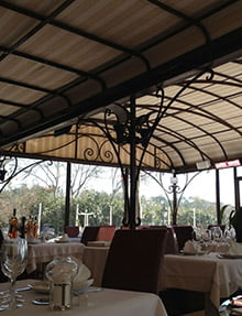 Retractable Patio Covers restaurant