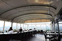 Operable Roof for four point by sheraton L.I.C. New York