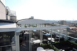 Retractable Roof for Four point by sheraton