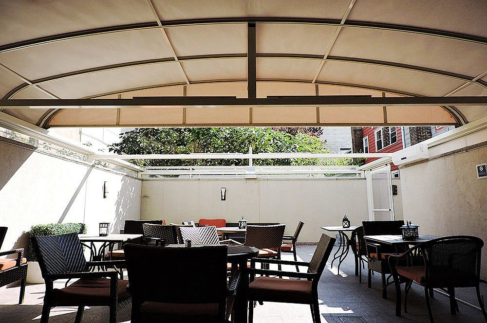 Custom Patio Covers for four point by sheraton L.I.C. New York