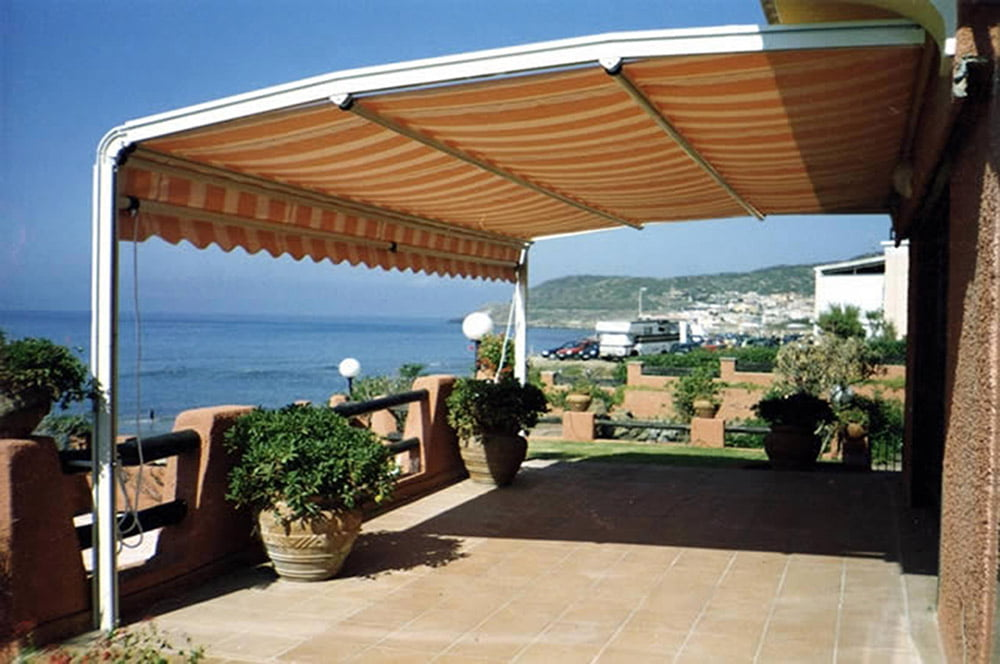 Awnings archives litra usa for Retractable patio awning canopy