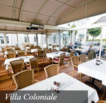 Villa Coloniale Rooftop Enclosure