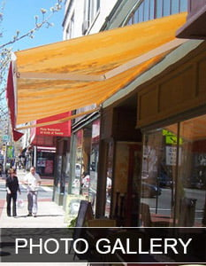 Retractable awnings NJ Gallery