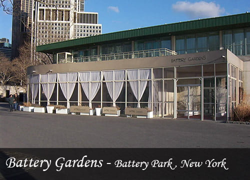 Reference of Battery Gardens Screen Enclosures