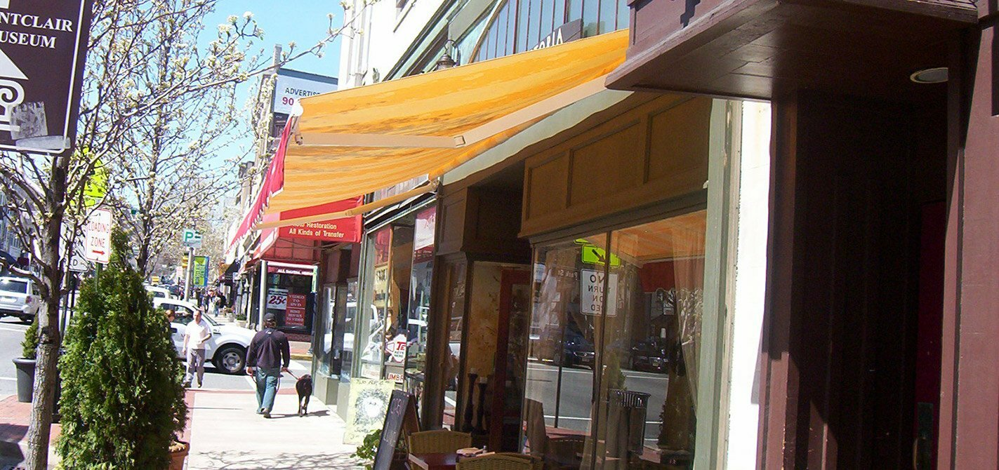 Aluminum Awnings Chicago Walkway By LITRA