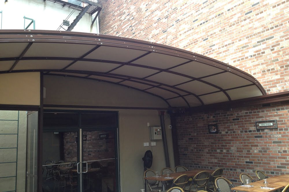Litra Retractable roofing systems for Marco Polo