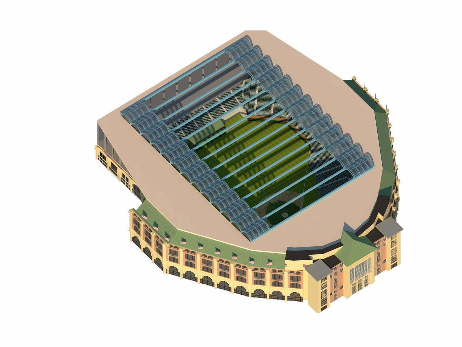 LITRA Retractable Roof Stadiums